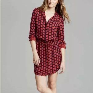 Splendid Dress Large Windowpane Shirtdress…